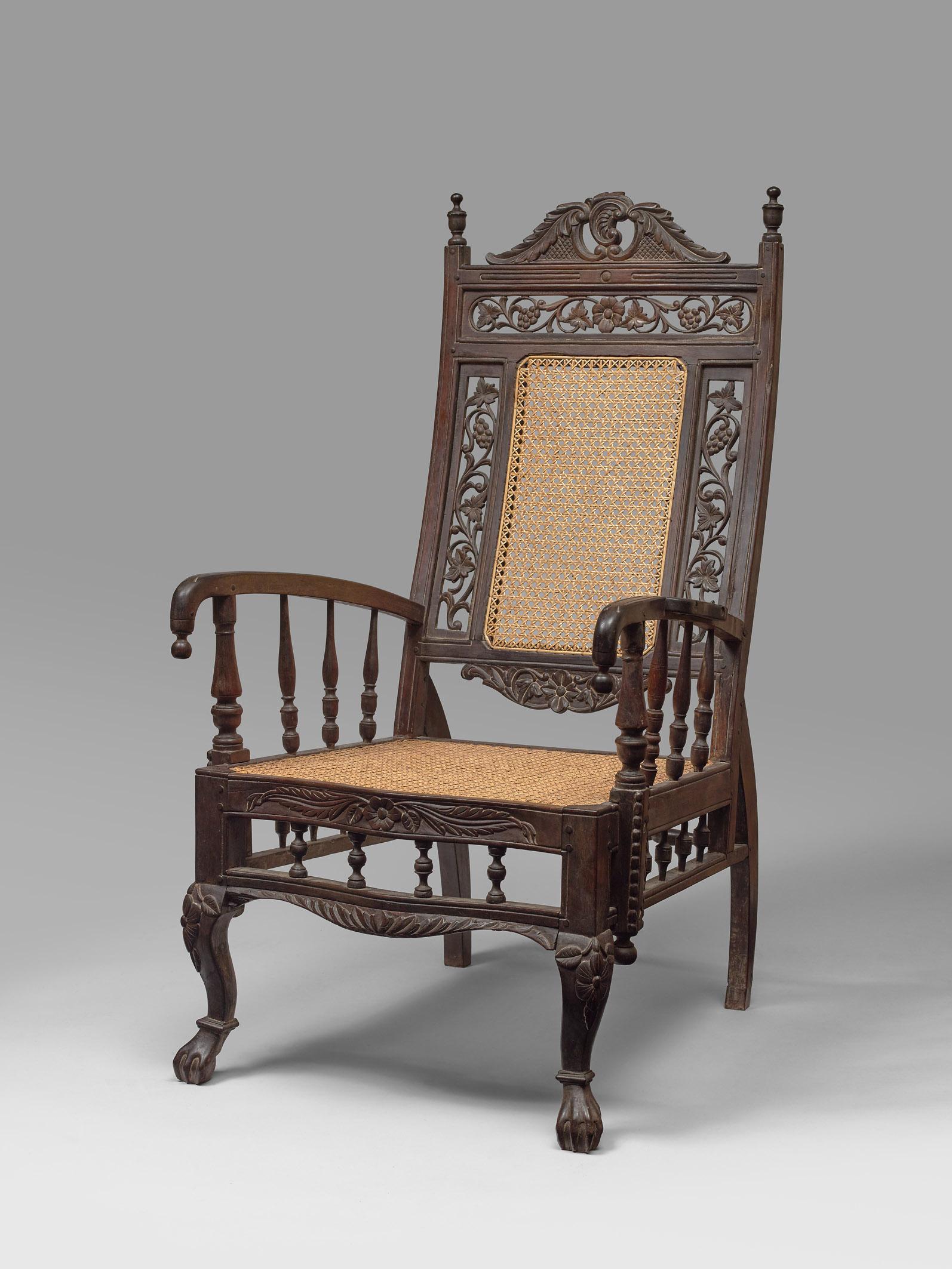 fauteuil palissandre - Vichot